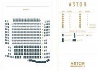 Der Saalplan von           ASTOR Film Lounge