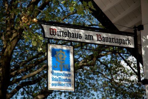 Bild einer Bühne Wirtshaus am Bavariapark