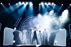 Darstellung einer Produktion The Band Das Musical von Tim Firth mit den Hits von TAKE THAT 2/8