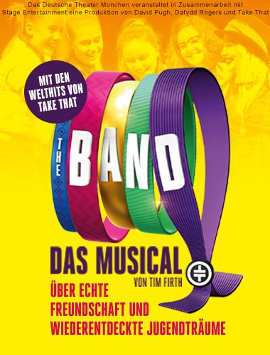 Darstellung einer Produktion The Band Das Musical von Tim Firth mit den Hits von TAKE THAT 1/8