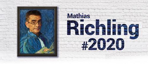 Darstellung einer Produktion MATHIAS RICHLING #2020 KABARETTISTISCHE JAHRESBILANZ 1/2