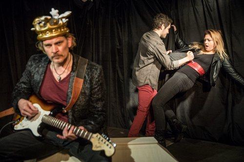 Darstellung einer Produktion Richard III. nach William Shakespeare 3/5