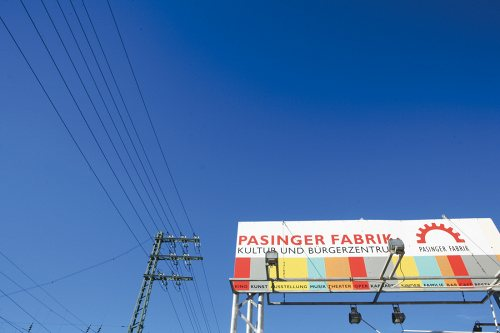 Bild einer Bühne Pasinger Fabrik